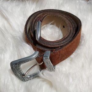 """Vintage USA made Levis suede belt 42"""""""